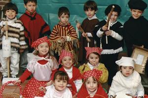 Alumnos en Jardín de Infantes